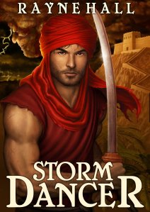 STORM DANCER Rayne Hall cover  11Jan13 reduced
